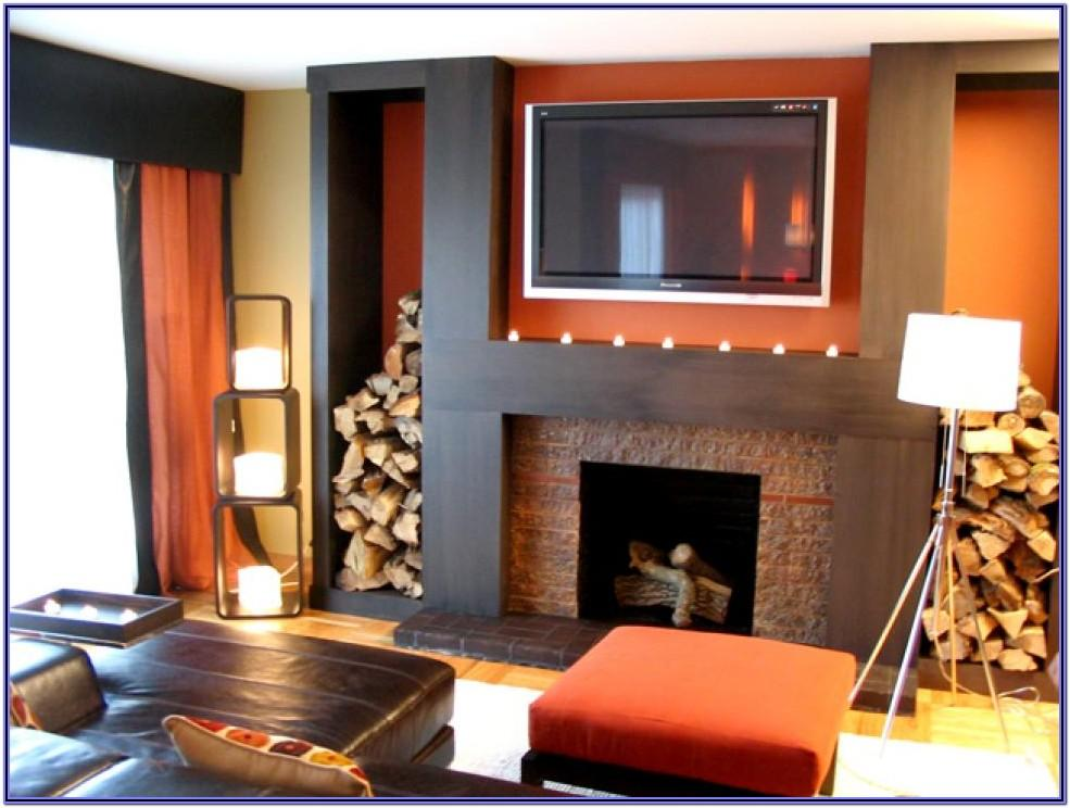 Fireplace Living Room Decor