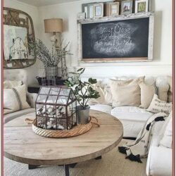 Fixer Upper Living Room Decor Ideas