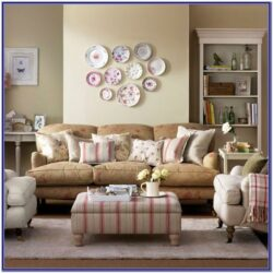 Floral Living Room Decorating Ideas