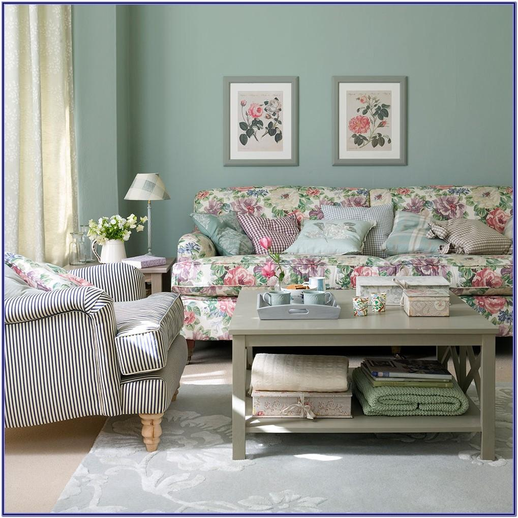 Floral Living Room Ideas
