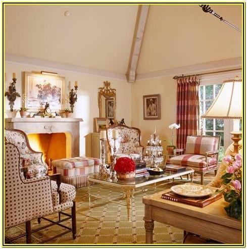 French Country Decorating Living Room