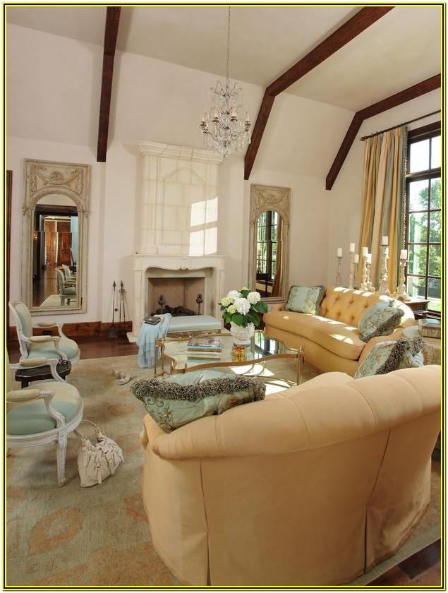 French Inspired Living Room Ideas