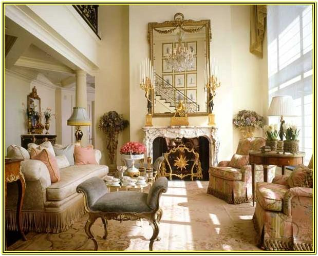French Living Room Decorating Ideas