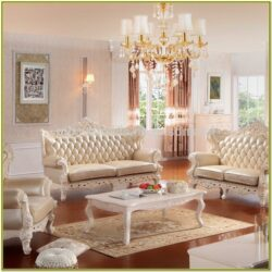 French Provincial Living Room Ideas