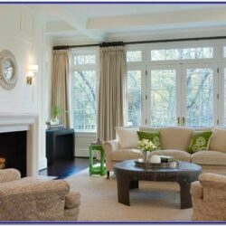 French Window Design For Living Room