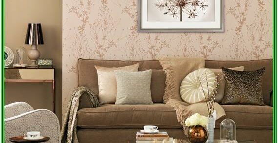 Glamorous Rose Gold Living Room Decor