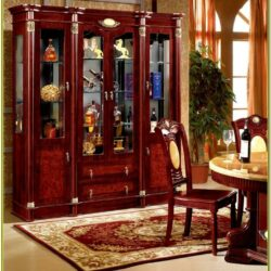 Glass Cabinet Designs For Living Room