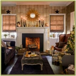 Gold And Black Living Room Decor