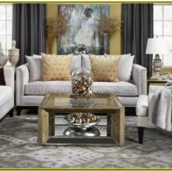 Gold And Gray Living Room Decor