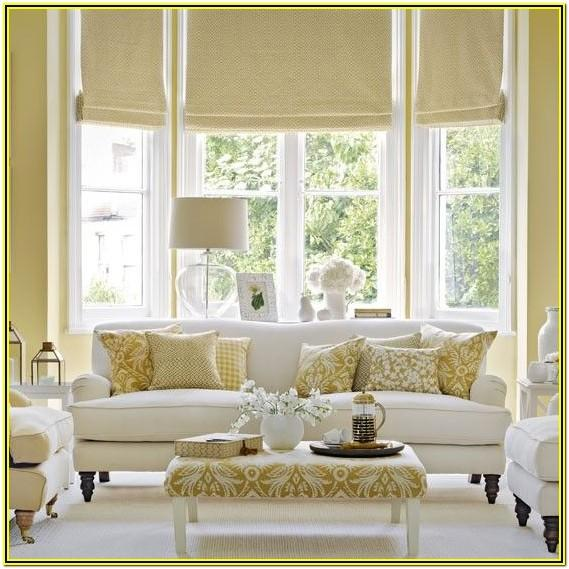 Gold And White Living Room Decor