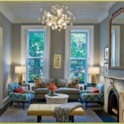 Gray And Teal Living Room Decor