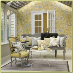 Gray And Yellow Living Room Ideas