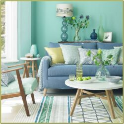 Green And Blue Living Room Decor