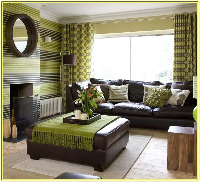 Green And Brown Living Room Ideas