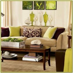 Green And Brown Living Rooms Designs
