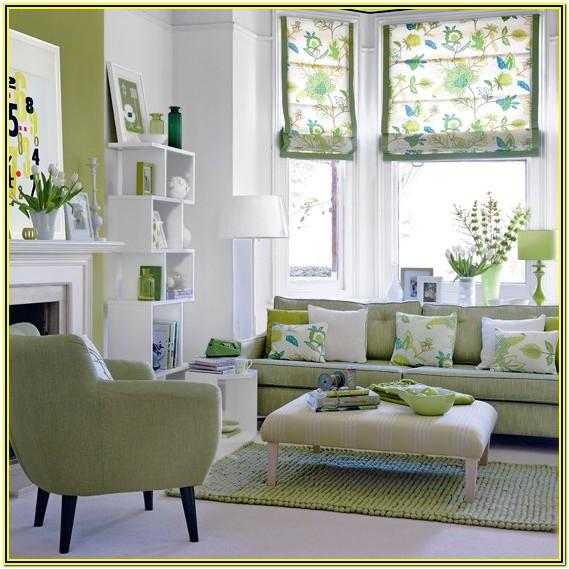 Green Living Room Decor