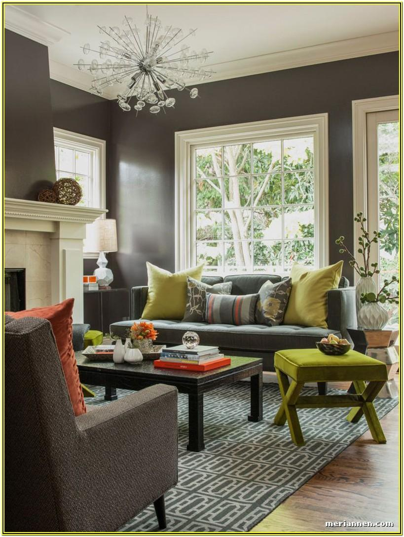 Grey And Colors Living Room Ideas
