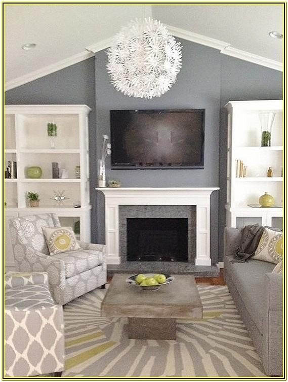 Grey And Green Living Room Decor