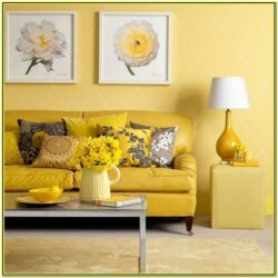 Grey And Yellow Living Room Decor Ideas