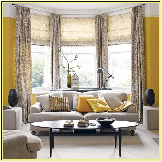 Grey And Yellow Living Room Walls