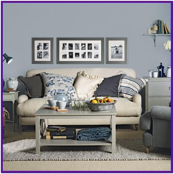 Grey Blue Living Room Decor