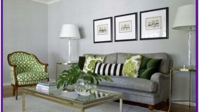 Grey Combination In Living Room Decor