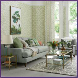 Grey Green Living Room Decor Ideas