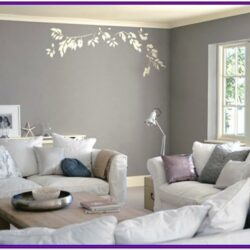 Grey Theme Living Room Decor