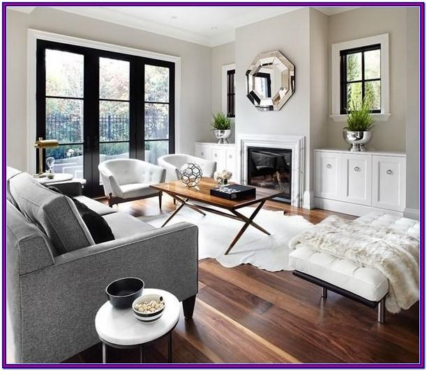 Grey Ton Floor Living Room Decorating Ideas