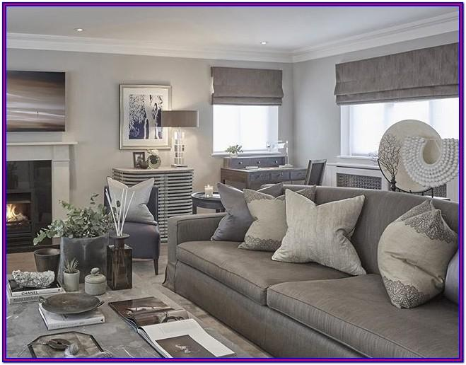 Grey Wall Decor Living Room Ideas