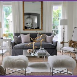 Grey White Couch Living Room Decor
