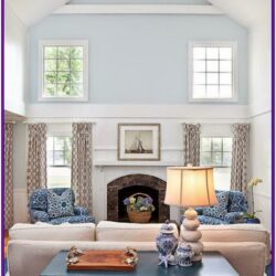 High Ceiling Living Room Decor