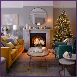 Holiday Living Room Decorating Ideas