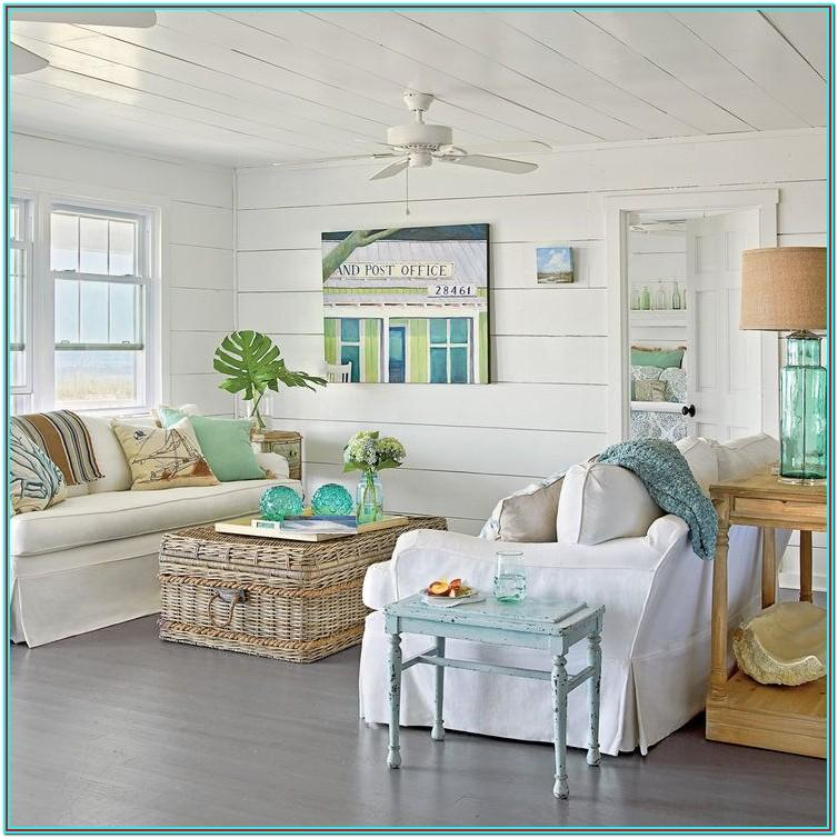 Home Decor Living Room Beach Glass