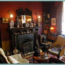 Home Decor Living Room Sherlock Holmes