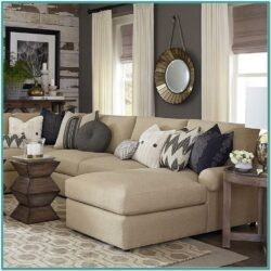 Home Decor Living Room Tan Couch