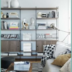 Home Decor Magazine Rack Living Room