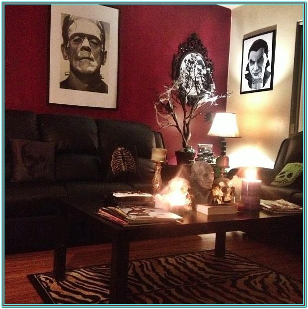 Horror Living Room Decor