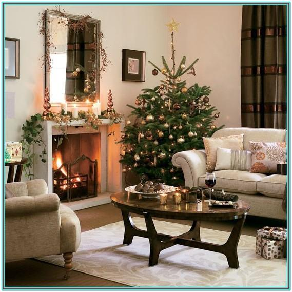 House Living Room Christmas Decor Ideas