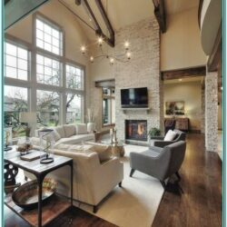 Houzz Rustic Living Room Decor Photo