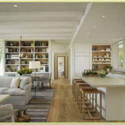 How To Decorate A Small Open Concept Living Room