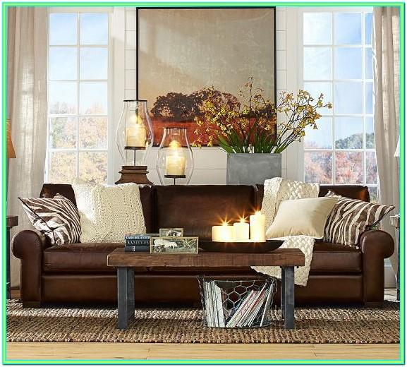 How To Decorate Living Room With Brown Leather Sectional