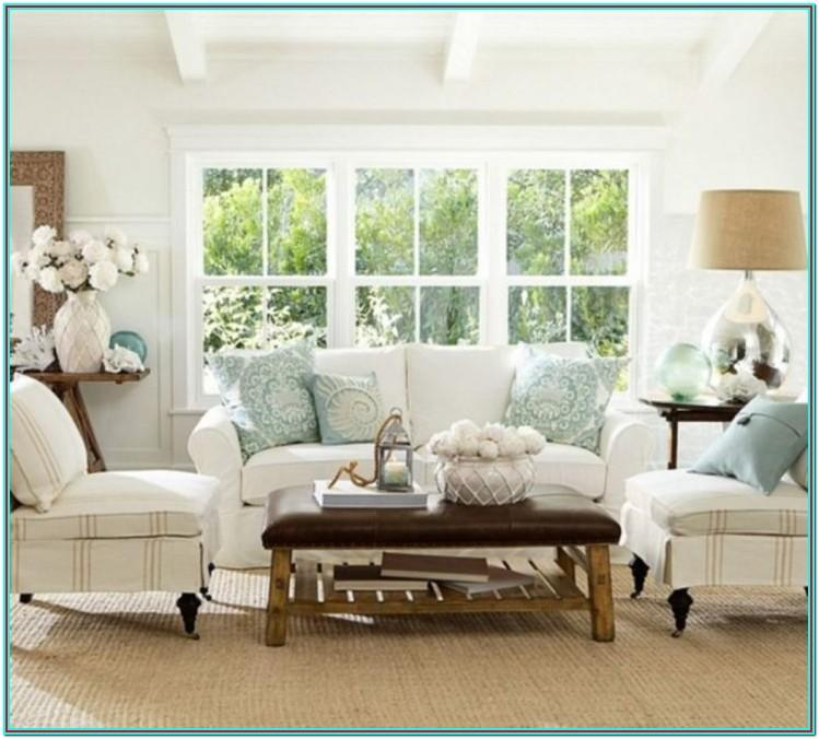 Ice Blue Living Room Decor
