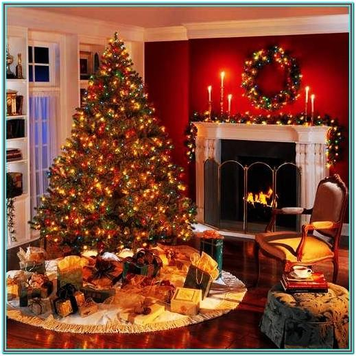 Ideas For Decorating Living Room At Christmas