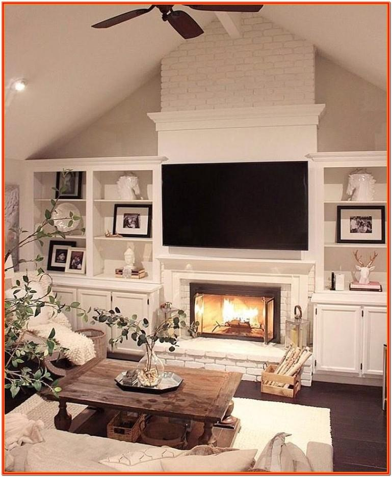 Ideas For Living Room Fireplace