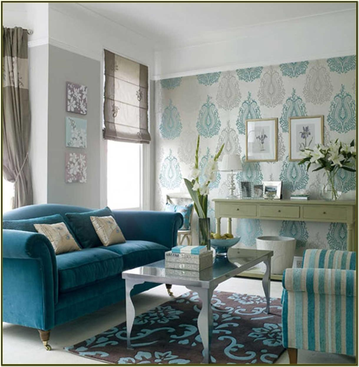 Ideas For Living Room Wallpaper
