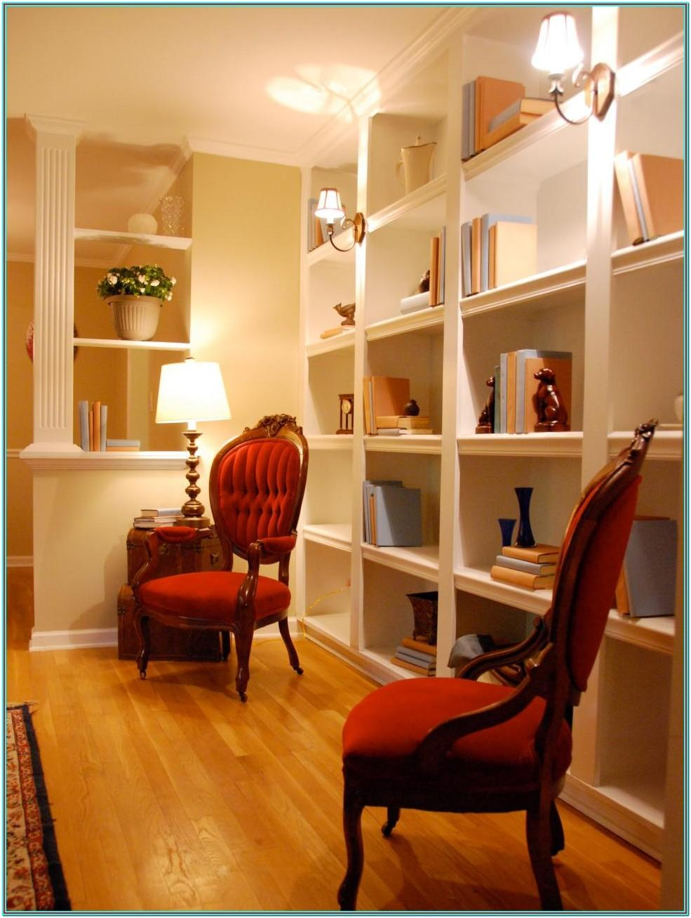 Ideas To Decorate A Living Room Shelves