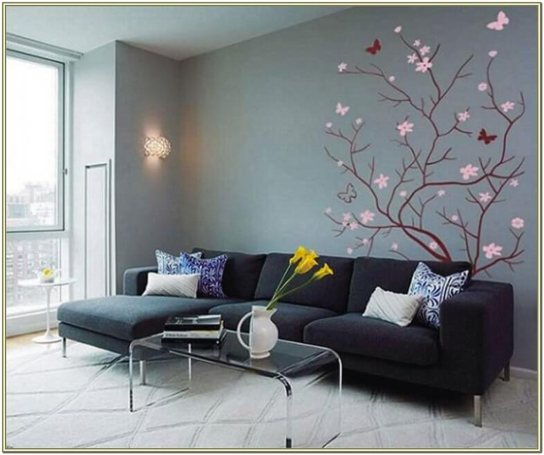 Images Of Decorated Living Room Walls