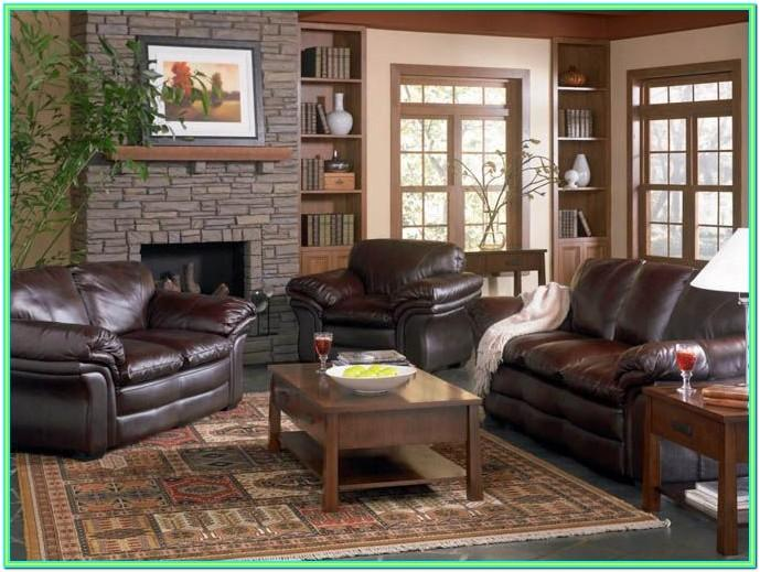 Images Of Living Rooms With Dark Brown Leather Furniture