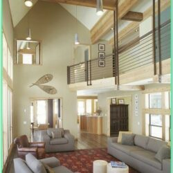 Images Of Living Rooms With High Ceilings
